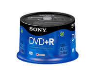 Sony DVD+R 16x, 50