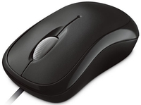Microsoft P58-00057 Maus (Schwarz)