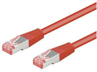 Wentronic CAT 6-050 LC SSTP PIMF 0.5m (Rot)