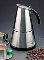 Rommelsbacher EKO 366/E Kaffeemaschine (Schwarz, Edelstahl)