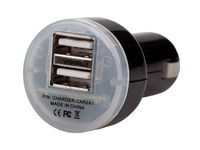 iTEC USB High Power Car Charger (Schwarz)
