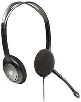 V7 Leichtes Stereo Headset mit Mikrofon (Schwarz)