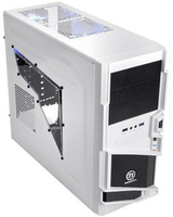 Thermaltake Commander MS-I Snow Edition (Schwarz, Weiß)