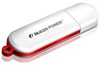 Silicon Power 4GB Luxmini 320 4GB USB 2.0 Weiß USB-Stick (Weiß)
