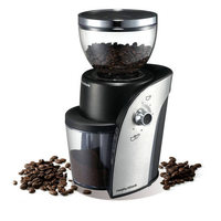 Morphy Richards 47910 Kaffeemühlen (Schwarz, Edelstahl)