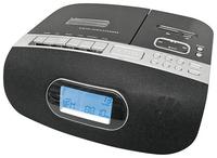 Reflexion HRA 4050 Radio (Schwarz, Silber)
