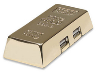 Manhattan Hi-Speed USB Hub (Gold)