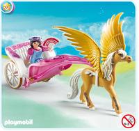Playmobil 5143 - Pegasus-Kutsche (Mehrfarbig)