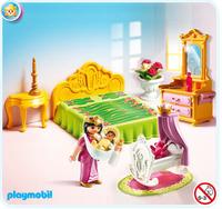 Playmobil 5146 - Schlafgemach mit Babywiege (Mehrfarbig)