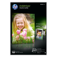 HP Everyday Glossy 100/10x15 (Weiß)