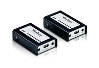 Aten VE810 Audio- / Video-Extender (Schwarz)