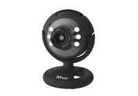 Trust Spotlight Webcam (Schwarz)
