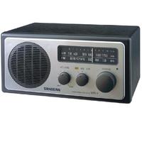 Sangean WR-1 Analogue Radio, Silver