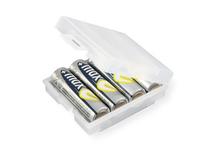 Ansmann 4000740 Ausrüstungskoffer (Transparent, Weiß)