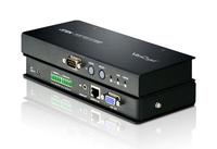 Aten VE500R Audio- / Video-Extender (Schwarz)