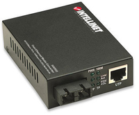 Intellinet 506502 network media converter (Schwarz)