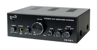 Dynavox CS-PA1 audio amplifier (Schwarz, Silber)