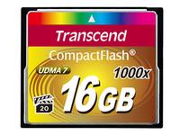 Transcend CompactFlash Card 1000x 16GB