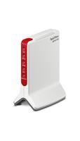 AVM FRITZ!Box 6810 LTE, DE WLAN Eingebauter Ethernet-Anschluss Rot, Weiß (Rot, Weiß)