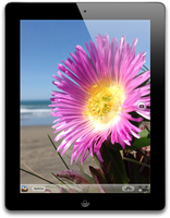 Apple iPad Retina display 64GB Schwarz (Schwarz)
