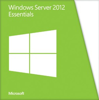 Microsoft Windows Server 2012 Essentials, 64-bit, OEM, 1-2 CPU, 25u, DVD, DEU