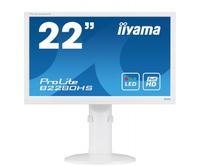 iiyama ProLite B2280HS-W1 PC Flachbildschirm (Weiß)