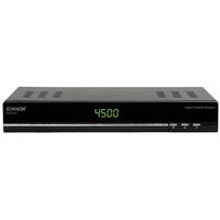 Schwaiger DSR6020 011 TV set-top box (Schwarz)