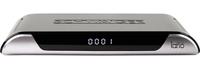 Schwaiger DSR605 TV set-top box (Schwarz, Silber)