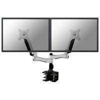 Newstar FPMA-D980D Flat panel Tischhalter (Silber)