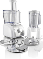 Gorenje SB800W 800W 1.5l Silber, Weiß Küchenmaschine (Silber, Weiß)