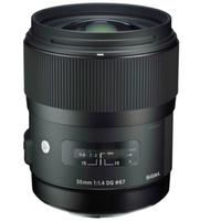 Sigma 35mm F1.4 DG HSM (Schwarz)