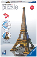 Ravensburger Eiffel Tower 3D Puzzle, 216pc
