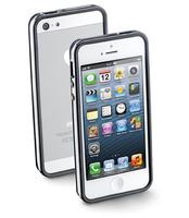 Cellular Line BUMPERIPHONE5BK Handy-Schutzhülle (Schwarz)