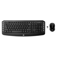 HP Wireless Classic Desktop (Schwarz)