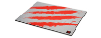 Mad Catz G.L.I.D.E. 5 Gaming Surface (Grau, Rot)