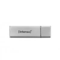 Intenso Alu Line USB 2.0, 4 GB 4GB USB 2.0 Silber USB-Stick (Silber)