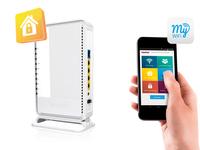 Sitecom WLR-4100 N300 Wi-Fi Gigabit Router X4 incl. USB 2.0 Port (Weiß)