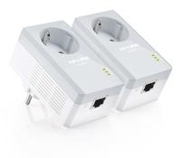 TP-LINK TL-PA4010PKIT PowerLine Netzwerkadapter (Weiß)