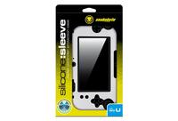 Snakebyte SB907371 Schutzhülle für tragbare Spielekonsole (Schwarz, Silber)