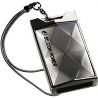 Silicon Power 64GB Touch 850 64GB USB 2.0 Silber USB-Stick (Silber)