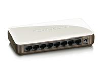Sitecom LN-119 Fast Ethernet Switch 8 Port (Weiß)