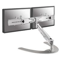 Newstar FPMA-D940DD Flat panel Tischhalter (Silber)