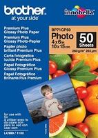 Brother BP71GP50 Premium Glossy Photo Paper (Weiß)