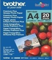 Brother BP71GA4 Premium Plus Glossy Photo Paper (Weiß)