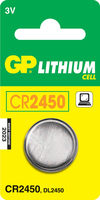 GP Batteries Lithium Cell CR2450 (Edelstahl)