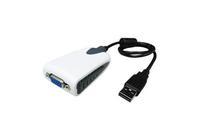 Add-On Computer Peripherals (ACP) USB2VGA USB 2.0 VGA Schwarz, Weiß Kabelschnittstellen-/adapter (Schwarz, Weiß)