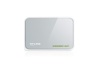 TP-LINK 5-Port 10/100Mbps Desktop Switch (Weiß)