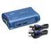Trendnet TK-207K Tastatur/Video/Maus (KVM) Switch (Blau)