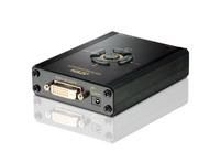 Aten VC160 Video-Konverter (Schwarz)