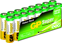 GP Batteries Super Alkaline AA (Mehrfarbig)